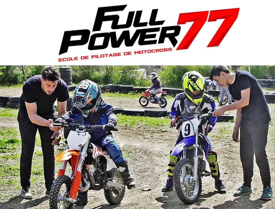 Session motocross enfant