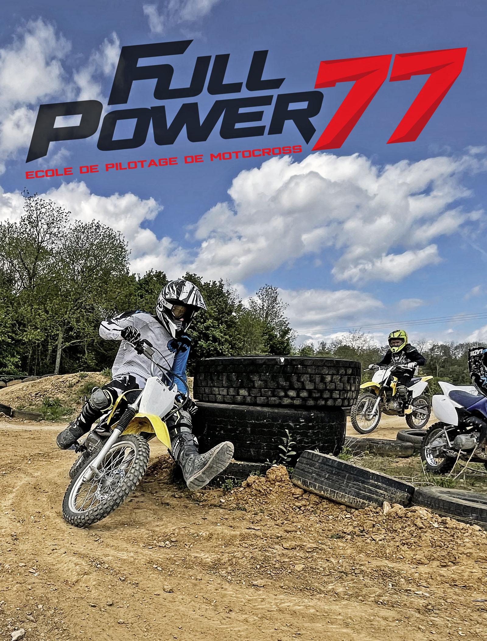 Stage motocross enfants brie comte robert